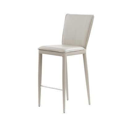 Catlin Bar Stool Upholstery: Taupe