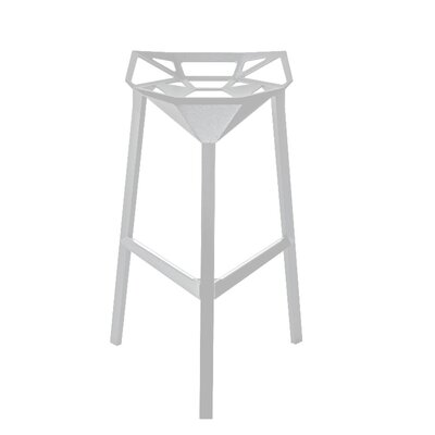 Burkholder 30 Bar Stool Color: White