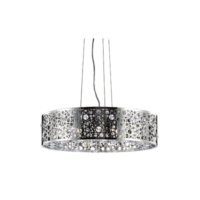 Darcey 8-Light Drum Chandelier