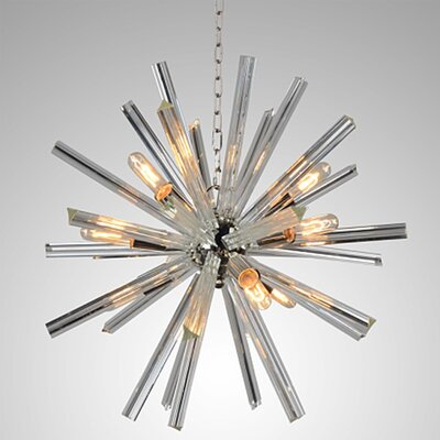 Neptune 9-Light Sputnik Chandelier