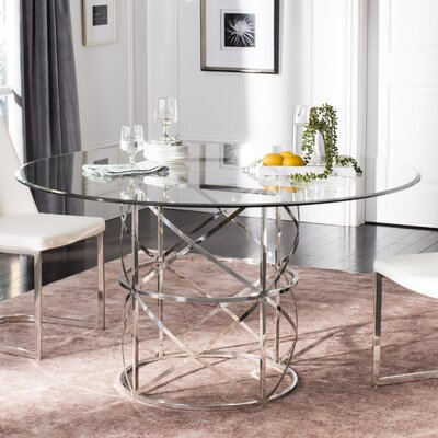 Petrella Glass Top Dining Table