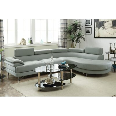 Warwick Sectional Upholstery : Light Gray