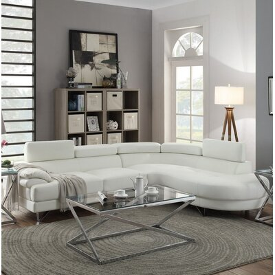 Warwick Sectional Upholstery : White