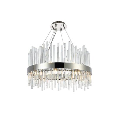 Perlo 16-Light Crystal Chandelier