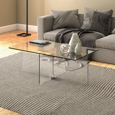 Stambaugh Coffee Table Color: Clear