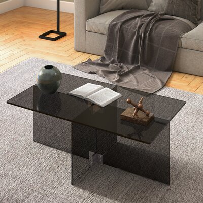 Stambaugh Coffee Table Color: Black