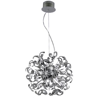 Thalassa 25-Light Geometric Pendant