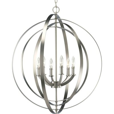 Jetton 6-Light Foyer Pendant