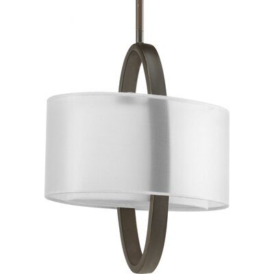 Raveena 1-Light Geometric Pendant Finish: Antique Bronze