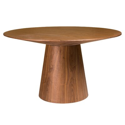 Lolley Round Dining Table Color: American Walnut