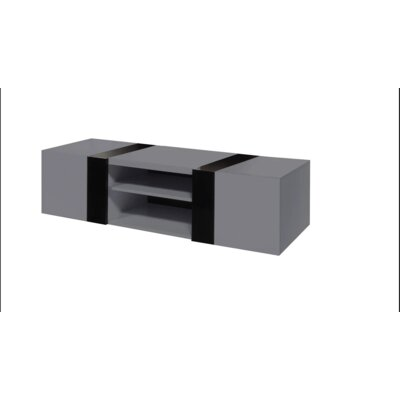 Scorpius 66 TV Stand Color: Gray