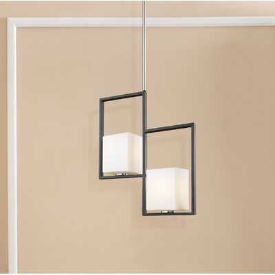 Parra 2-Light Geometric Pendant