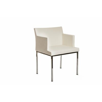 Lally Armchair Upholstery: White