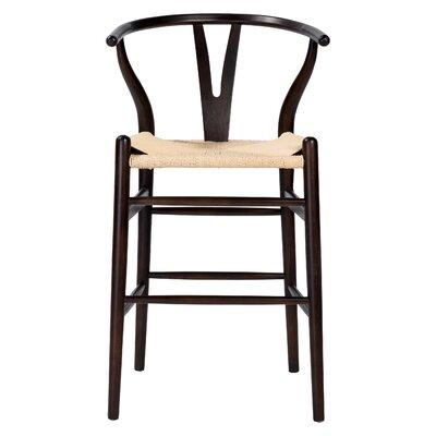 Stearns 38.98 Counter Bar Stool Color: Walnut