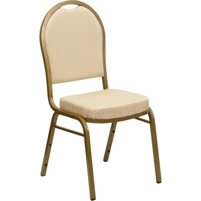 Anissa Dome Banquet Chair Finish: Beige