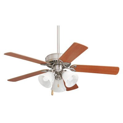 42 Kelsi Pro Series II Ceiling Fan Finish: Brushed Steel with Maple/Natural Cherry Blades