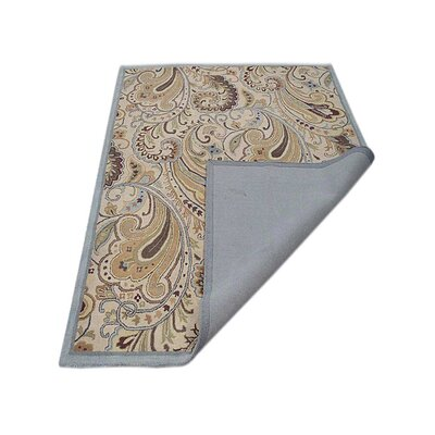 Demi Hand-Tufted Wool Cream Area Rug Rug Size: 5 x 8