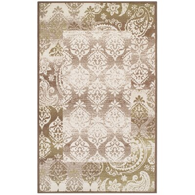 Ellen Brown Area Rug Rug Size: Rectangle 4 x 6