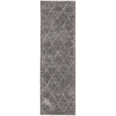 Moore Dark Gray Area Rug Rug Size: Rectangle 66 x 2