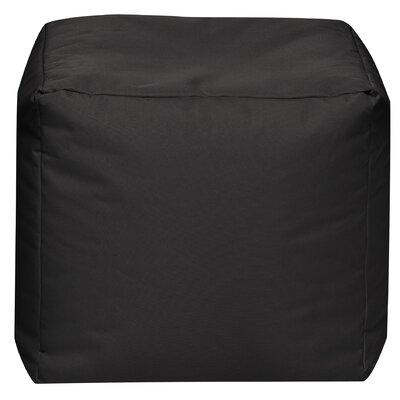 Camelot Pouf Upholstery: Black