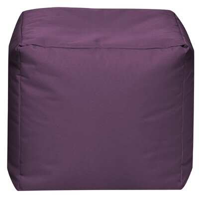 Camelot Pouf Upholstery: Aubergine