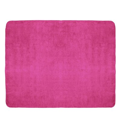 Campton Microfleece Throw Color: Hot Pink