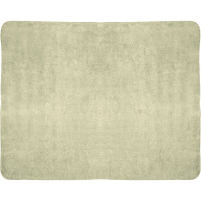 Campton Microfleece Throw Color: Khaki