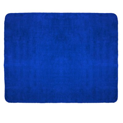 Campton Microfleece Throw Color: Royal