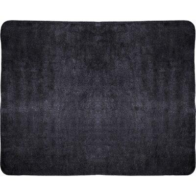 Campton Microfleece Throw Color: Black