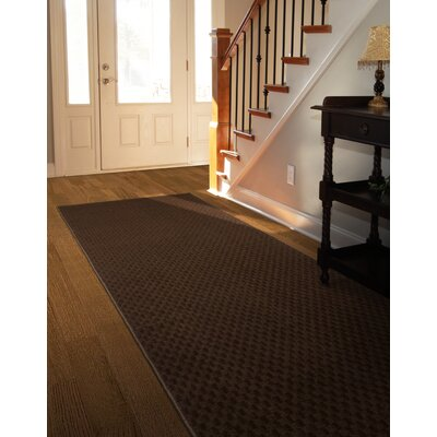 Esther Brown Area Rug Rug Size: 2 x 8