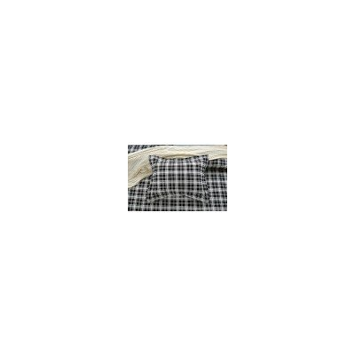 Graham Plaid Reversible Duvet Cover Set Size: King/California King