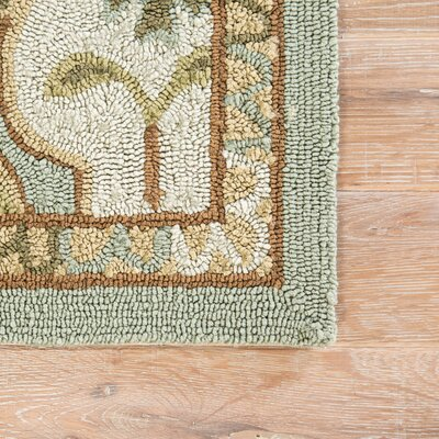 Breann Hoja Indoor/Outdoor Area Rug Rug Size: Rectangle 5 x 76