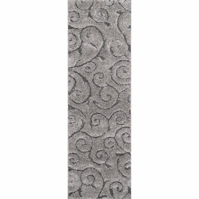 Annable Dark Gray Area Rug Rug Size: Runner 28 x 8