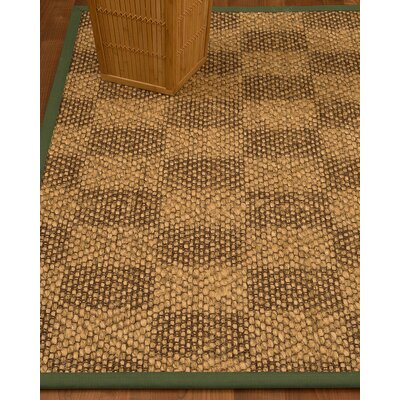 Hearne Hand Woven Brown Area Rug Rug Size: Rectangle 8 X 10