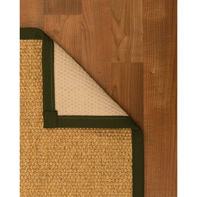 Healey Hand Woven Brown Area Rug Rug Size: Rectangle 8 X 10