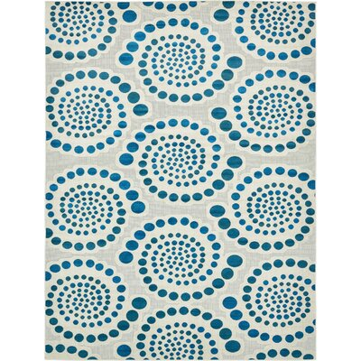Elton Cream Indoor/Outdoor Area Rug Rug Size: Rectangle 9 x 12