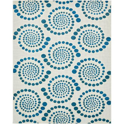 Elton Cream Indoor/Outdoor Area Rug Rug Size: Rectangle 8 x 10