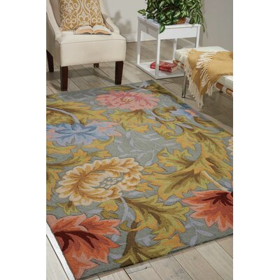 Haleigh Area Rug Rug Size: Rectangle 19 x 29