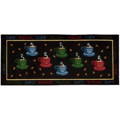 Sharice Red/Green Novelty Rug