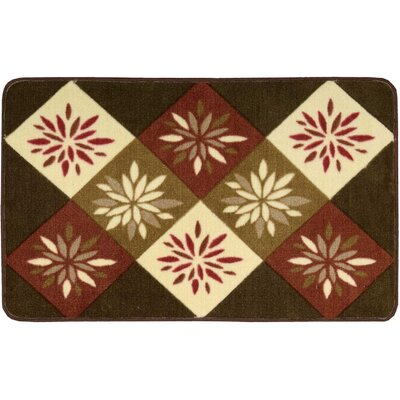 Shanda Brown Area Rug Rug Size: Rectangle 23 x 39
