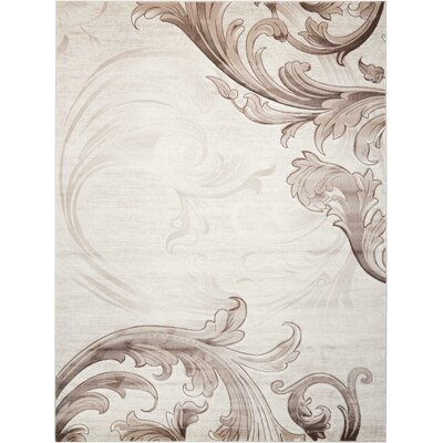 Shelley Beige Area Rug Rug Size: Rectangle 710 x 106