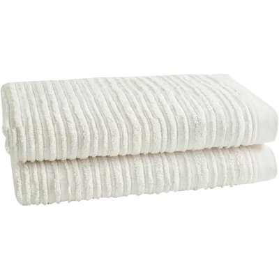 Tarsha Solid Oversized Bath Towel Color: Sugar Swizzle