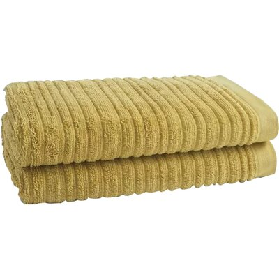 Tarsha Solid Oversized Bath Towel Color: Pear Green