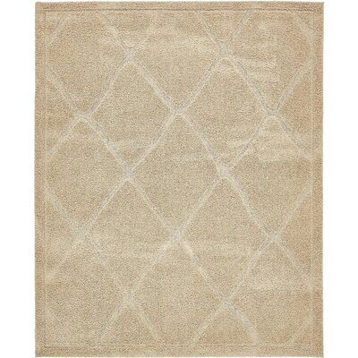 Chester Machine Woven Beige Area Rug Rug Size: Rectangle 8 x 10
