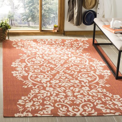 Joliet Tapestry Cinnamon Stick Area Rug Rug Size: Rectangle 27 x 5
