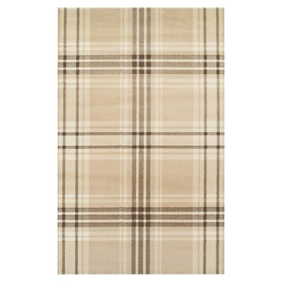 Ashley Beige Indoor Area Rug Rug Size: Rectangle 5 x 8