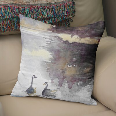 Kalene Throw Pillow Size: 18 H x 18 W x 6 D