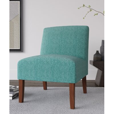Alleyton Slipper Chair Upholstery: Teal