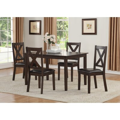 Fitzsimmons Traditional Style Dining Set