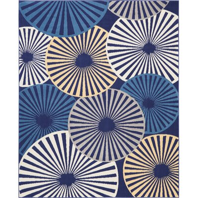 Folden Navy Area Rug Rug Size: Rectangle�53 x 73